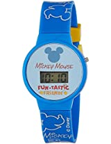 Disney Digital Blue Dial Boy's Watch - DW100469