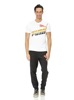 Puma T-Shirt Sunbleach (White)