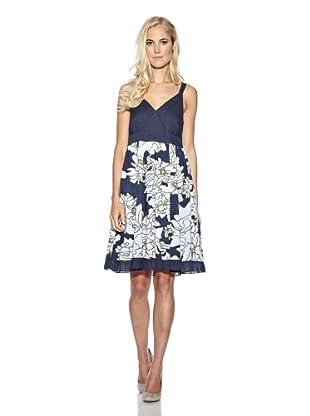 Cream Kleid Luca (Blau)