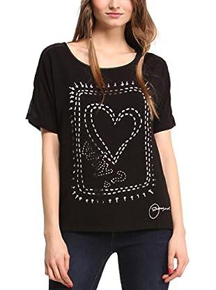 Desigual Camiseta Manga Corta Raquel