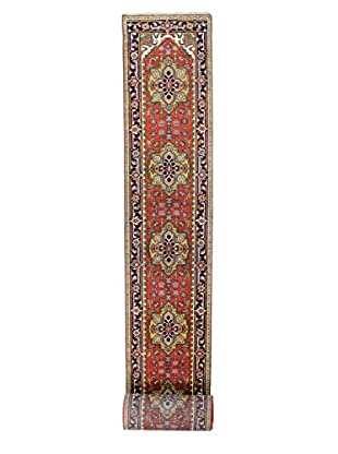 Bashian Rugs Hand Knotted One-of-a-Kind Indo-Herez Rug, Rust, 2' 7