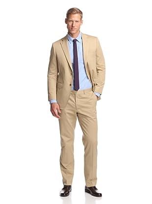 Samuelsohn Men's 2-Button Suit (Tan)