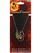 NECA The Hunger Games Mockingjay Necklace - Peeta District 12