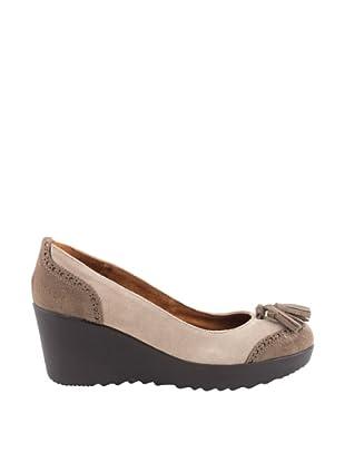 Liberitae Zapatos tacón Borlas (Topo)