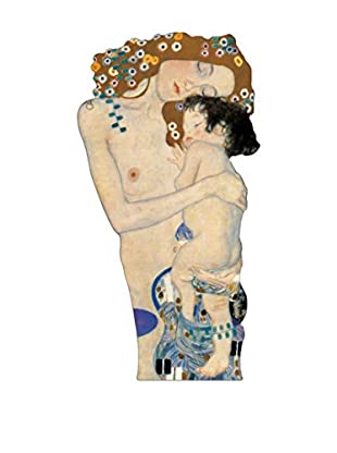 ArtopWeb Panel de Madera Klimt Mother And Child