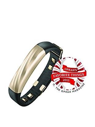 Jawbone UP3 Fitness Tracker, Black Gold Twist