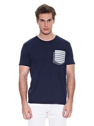 Springfield Camiseta B2 Doble Pkt Ehtnic (Azul)