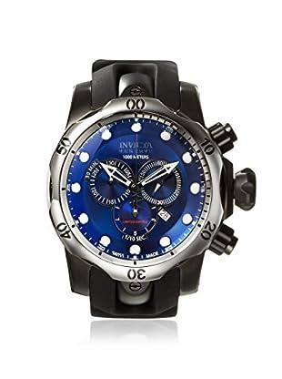 Invicta Men's ILEF0003ASYB Venom Black/Blue Polyurethane Watch