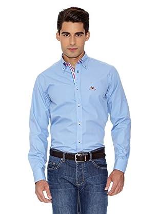 La Española Camisa Fitted (Azul)