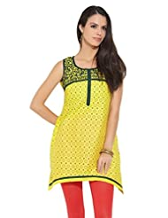 Lovely Lady Ladies Blend Straight Kurta - B00MMENSTC