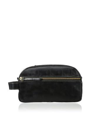 Timberland Men's Oil Pullup Travel Kit (Black)