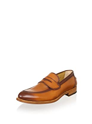 Antonio Maurizi Men's Slip-On Dress Shoe (French Calf Cognac)
