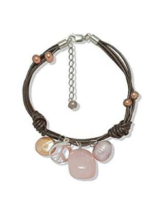 Valero Pearls 60201605 - Pulsera de mujer de plata de ley con perla de agua dulce