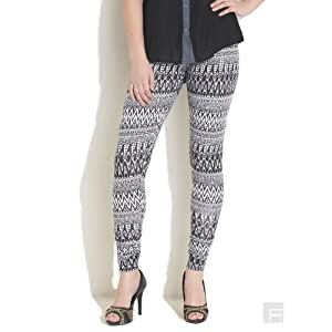Aztec Print Knit Leggings