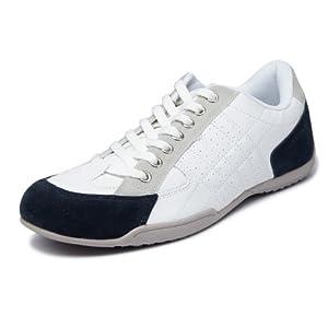 Navyfont Men's Sneakers-White