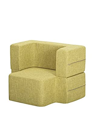 Best seller living Sillón Puff Mini Tiramisu Verde Claro
