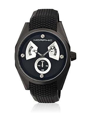 Morphic Reloj con movimiento cuarzo japonés Mph3404 Negro 44  mm