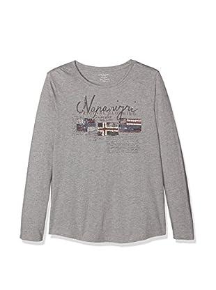 Napapijri Camiseta Manga Larga