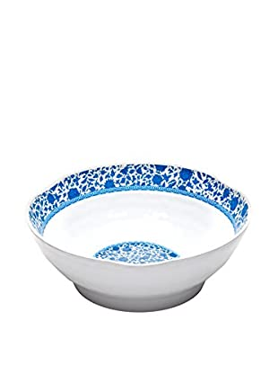 Q Squared NYC Blue & White Heritage Serving Bowl