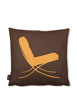 Inhabit 1929 Pillow (Sunshine/Chocolate)