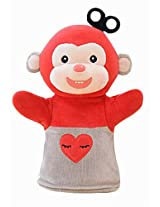 Plush Animal Hand Puppets Funny Toys For Kids, Monkey L
