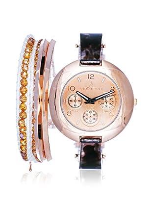 Arm Candy Women's NXS5295Q-BK Black/Rose Stainless Steel/Metal Watch