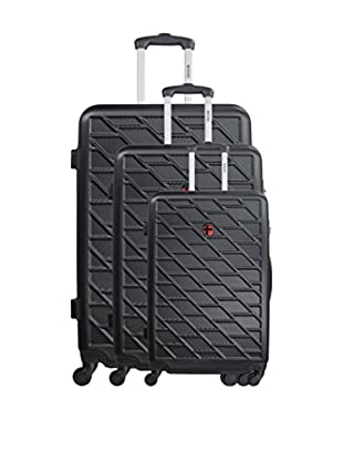 GEOGRAPHICAL NORWAY Set de 3 trolleys rígidos Starbuc