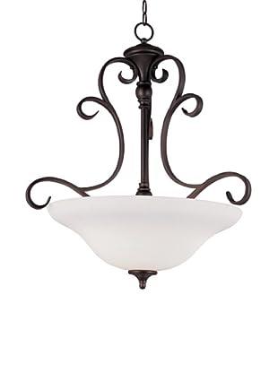 TransGlobe Garland II 3-Light Pendant Lamp, Oil-Rubbed Bronze