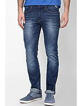 Blue Skinny Fit Jeans (Vapour)