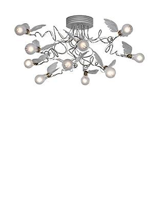 Ingo Maurer Lámpara De Techo Birdie 'S Nest aluminio/Blanco