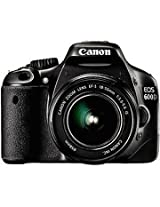 Canon EOS 600D DSLR Black with 18 55mm IS Kit Lens