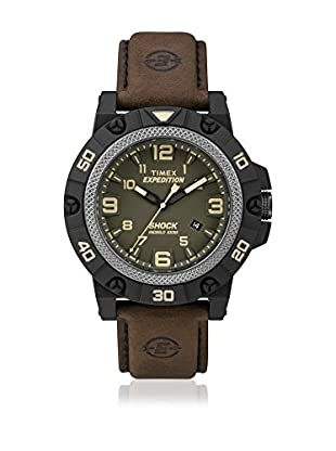 TIMEX Reloj de cuarzo Man Expedition Field Shock Marrón 46 mm