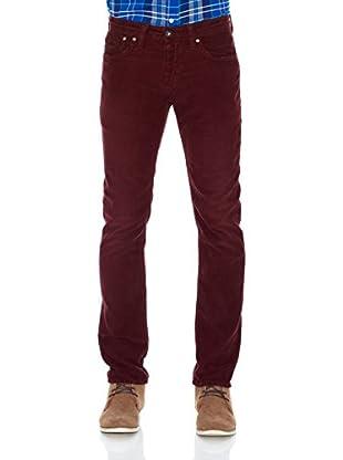 Pepe Jeans London Pantalón Cash (Burdeos)