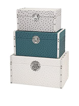 Set of 3 Claire Trunks