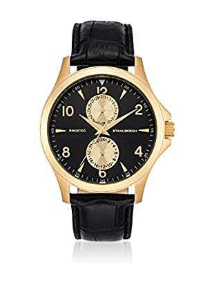 Stahlbergh Reloj de cuarzo Ringsted Negro 42.5  mm