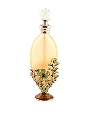 Ciel Collectables Bejeweled Perfume Bottle (Yellow)
