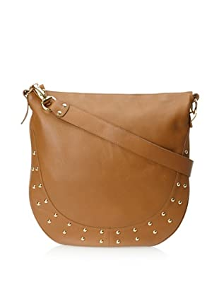 Pietro Alessandro Women's The Becca Shoulder Bag (Tan)