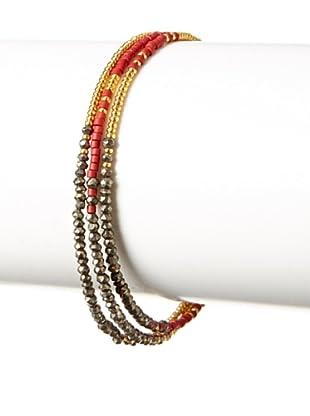 Shashi Pyrite Blaire Bracelet