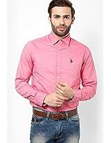 Pink Casual Shirt