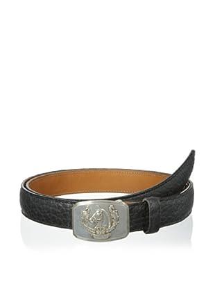 Trafalgar Men's Bison Belt (Black)