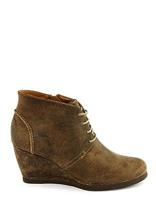 Eye Shoes Botines Cordones Cuña (Topo)