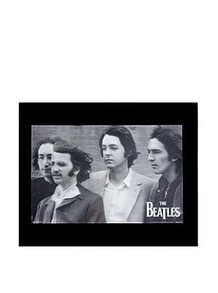 The Beatles FAB 4 Framed 3-D Hologram Poster