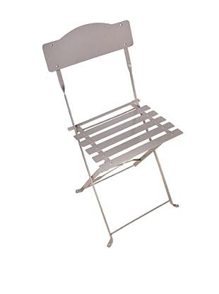 Esschert Design USA Foldable Chair, Grey