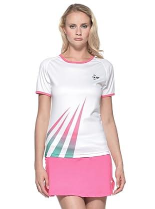 Dunlop Abbigliamento Ladies - Crew Tee (Bianco)