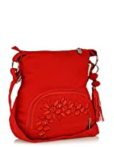 pick pocket Women's Sling Bag (Red) (slredemb39)
