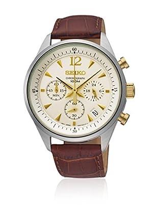 Seiko Reloj de cuarzo SSB069P1 Marrón 41  mm
