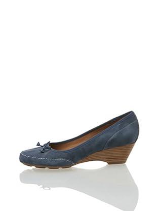 Clarks Harmonious Fun 20349838, Scarpe casual donna (Blu (Blau (Navy Nubuck)))