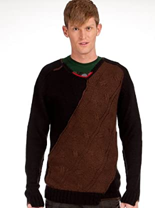 Custo Pullover (Schwarz)