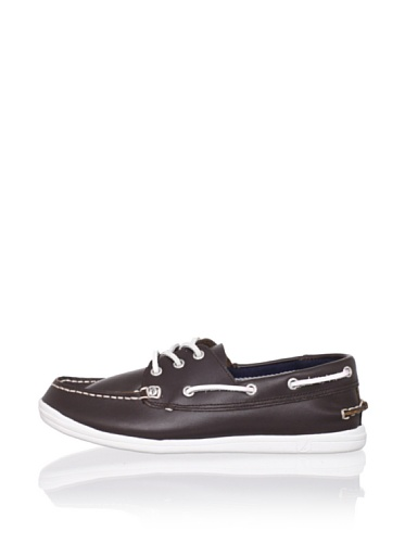 Nautica Hyannis Boat Shoe (Toddler/Little Kid/Big Kid) (Dark Brown)
