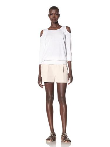 Acrobat Women's Open Shoulder Sweater (Marshmallow)